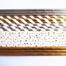Nützliche Edelstahl Strohhalme Wiederverwendbare 8,5Zoll kurze Silber Trinkhalme