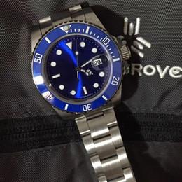 2019 montre de luxe pour hommes automatique mécanique TOP saphir montre super lumineux bleu lumineux original assurance boucle 40mm montre pour hommes ? partir de fabricateur
