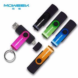 2019 memory stick 4gb Hot Moweek Multifuncional USB Flash Drive 128 gb 64 gb cle usb vara 32 gb Pendrive 16 gb 8 gb 4 gb usb 2.0 memory stick para android memory stick 4gb barato