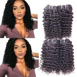 2019 trama del pelo marley Promoción 10A Cuticle Aligned Raw Virgin Virgin Sin procesar Cuticle Aligned Kinky Curly Mongolian Afro Kinky Curly Virgin Hair