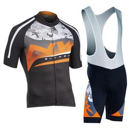 Bibs de ciclismo on-line-SportswearHomens manga curta camisa de ciclismo bicicleta bib Shorts calças set Ropa ciclismo ciclismo bicicleta desgaste uniforme Maillot Sportswear design