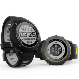 Barometer thermometer hygrometer online-Outdoor Sports Tactical Smart Uhren. GPS BDS GLONASS Drei Navigationssatellitensystem Thermometer Hygrometer Barometer Smart Watch