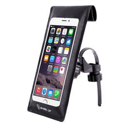 halterungen für handy Rabatt WHeeL UP wasserdichte Lenker Telefon Tasche Fahrrad Fahrrad MTB vorne Handyhalterung