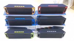 alto-falantes md Desconto Atacado sem fio Bluetooth Speaker impermeáveis Speakers Super Bass Mini jogador ao ar livre com Retail Pacote Box Para Smartphone