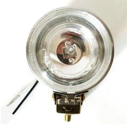 Faróis de neblina on-line-3 Polegadas 12 V Rodada Car Fog Lamp 55 W Condução Running Light Branco Brilhante e Amarelo
