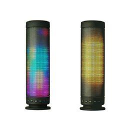 2020 alto-falante de mão bluetooth 2019 LED Speaker Lâmpada Symphony Bluetooth Speaker Suporte Cartão TF Hands-free Wireless Speaker Colorido alto-falante de mão bluetooth barato