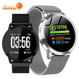 женские наручные часы Скидка CF18 Smart Watch OLED Цветной Экран Smartwatch Мода Фитнес-Трекер Монитор Сердечного ритма Артериального Давления Для Мужчин Женщин