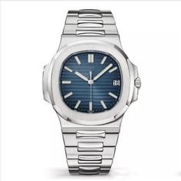 2019 relógios de ouro para homens Relógio de luxo Nautilus Sports Watch Homens Automático Monement Relógios Rose Gold Caso Brown Dial inoxidável mens relógios de pulso mecânicos relógios de ouro para homens barato