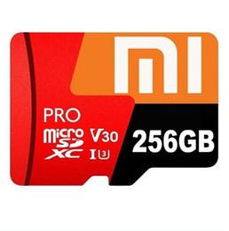 Memória micro câmera sd on-line-256 GB Micro SD MicroSDHC Micro SD SDHC Classe Cartão 10 UHS-1 TF Cartão de Memória para telefones inteligentes câmeras MP4
