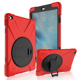 2019 transparente farbe ipad mini Case für ipad mini1 / 2/3 kid safe stoßfest schwere silikon hard cover für apple ipad mini 1 2 3 stand case mit handschlaufe