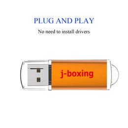 Argentina J-boxing Orange Rectangle 32GB USB Flash Drive Suficiente Memory Sticks 32gb usb 2.0 Flash Pen Drive para PC Laptop Macbook Tablet Almacenamiento de pulgar Suministro