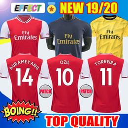 Camiseta de fútbol 19 20 Arsenal 2019 2020 Camiseta de fútbol Arsenal fc AUBAMEYANG ÖZIL TORREIRA LACAZETTE MKHITARYAN XHAKA HENRY KOSCIELNY Kids Soccer Jerseys desde fabricantes