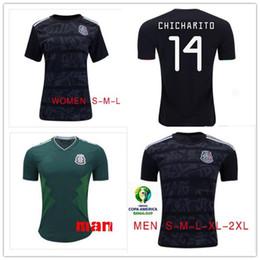 Deutschland 2019 GOLD CUP Mexikanisches Fußball-Sweatshirt LOZANO CHICHARITO LAYUN Fußballtrikot 19 20 Mexikanischer Frauen-Jersey-Kinderanzug cheap mexican gold Versorgung