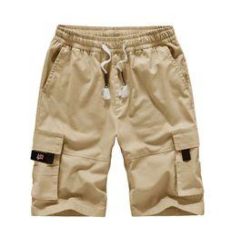 NUOVA Linea Uomo Pantaloni Chino Cargo Combattimento Lunga Estate Cotone Pants Bottom Bermuda