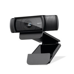 2019 webcam di registrazione video Webcam HD Pro C920e, videochiamata e registrazione widescreen, fotocamera 1080p, webcam desktop o laptop, versione di aggiornamento C920 sconti webcam di registrazione video