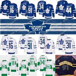 Toronto Maple Leafs Jersey 91 John Tavares 34 Auston Matthew 16 Mitchell Marner 88 William Nylander 44 Morgan Rielly Hokeyi Formalar nereden takım hokeyi forması turuncu tedarikçiler