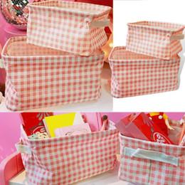scatola pieghevole di quadrato del tessuto Sconti Scatola di giocattoli pieghevole per bambini