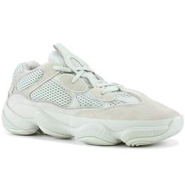 7036de35d Desert Rat 500 Salt EE7287 Running Shoes Mens Womens Utility Black F36640  Blush DB2908 Super Moon Yellow Kanye West Designer Sneakers 36-46