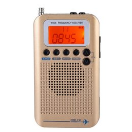 d chip Promo Codes - Portable Aircraft Radio Receiver,Full Band Radio Receiver - AIR FM AM CB SW VHF,LCD Display With Backlight,Chip Has A Powerful