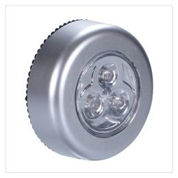 2019 rgb led lights vase base Luz noturna sem fio LED Lâmpada de toque de toque alimentada por bateria Quarto Lâmpada de toque sem fio para armários Armários Balcões ou salas de utilidade