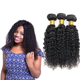 Jerry Curl Weave Hairstyle Curly Weave Human Hair Extensions 8 26inch Brazilian Curly Hair For American Women