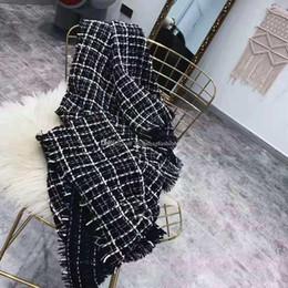 Argentina Bufanda de moda para hombre Bufandas de pata de gallo Bufandas de invierno Plaid Bufandas de invierno para hombres Bufandas de cachemira con marca Suministro