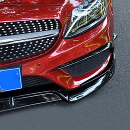 involucro d'aria da 3 metri Sconti PER Mercedes W205 paraurti anteriore anteriore labbro paraurti posteriore sfiato W205 AMG kit accessori C-CLASS 2015-2018