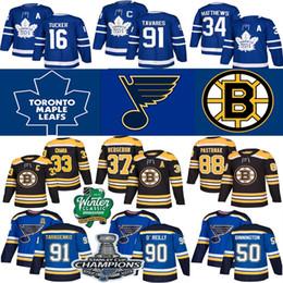 2019 autêntica camisa de hóquei nhl St. Louis Blues Jersey 2019 Stanley Cup Campeões Toronto Maple Leafs Hockey Jerseys 27 Pietrangelo 91 Tarasenko 17 Schwartz 90 O'Reilly