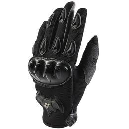 Guantes de protección de verano online-Venta al por mayor Dropshipping Summer Motorcycle Gloves Riding Racing Protection Female Men Moto Biker Driving Gloves Touchscreen