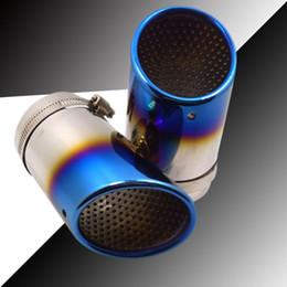 Motorrad Auspuff Schalldämpfer Rohr Hitzeschild Tube Protector Cover 141mm*63mm