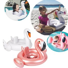 Argentina 16 Estilos Inflable Flamingo Baby Float Ring Summer Water Pool Baby Ring Cisne Unicornio Cangrejo Inflable Asiento Water Pool Juguetes Suministro
