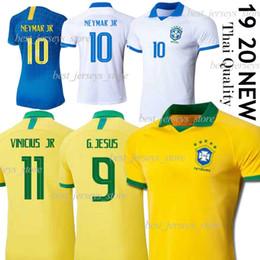 Maillot brésilien thai en Ligne-maillot de football thaïlandais Brésil G.JESUS 19 20 hommes MARCELO chemise de football jersey COUTINHO Vinicius de futebol copa america