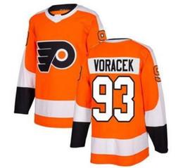 2019 new mens # 93 Maillot Voracek Orange Home Stitched, hommes 17 SIMMONDS 53 GOSTISBEHEPE 28 GIROUX à vendre ? partir de fabricateur