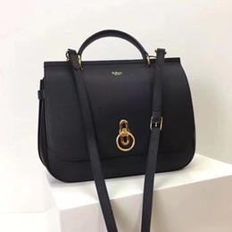 borse da viaggio Sconti 2018 nuova NUOVA borsa ambrata a spalla d'albero nel Regno Unito Borsa in vera pelle da donna 32CM borsa da donna della migliore qualità