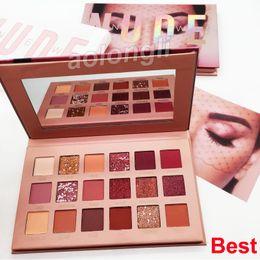 Tonos de paleta online-Belleza nude nuevo sombra de ojos paleta de maquillaje de 18 colores sombra de ojos mate de la sombra de ojos tonos altamente pigmentados mejor calidad de paleta
