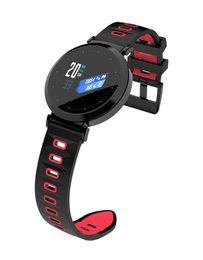 2019 guarda le chips NEWWEAR Y10 Smart Watch NRF52832 Chip Sangue ossigeno sonno cardiofrequenzimetro IP67 impermeabile sport fitness indossabile smartwatch 5 pz DHL