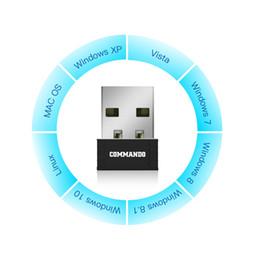 Tarjeta adaptadora inalámbrica 802.11N 150Mbps Dongle Wi-Fi inalámbrico para Windows XP / Vista / 7/8 / 8.1 / 10 Linux / Mac OS desde fabricantes
