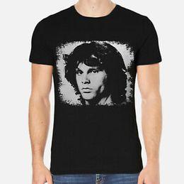 vêtements de célébrités Promotion Jim Morrison T-Shirt Hommes Célébrités Tee Vêtements 3-A-282