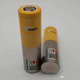 ecig box mod lila Rabatt 100% Qualität IMR 18650 Batterie 3500mAh 3.7V 30A 18650 Batterien wieder aufladbare Lithium-Batterien Fedex geben Verschiffen frei
