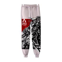 2019 pantalones hombre juego 2019 Popular Hot Game Apex Legends 3D Print Jogger Pantalones Mujeres / Hombres Casual Hot Sale Sweatpants Trendy Streetwear pantalones largos pantalones hombre juego baratos
