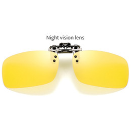 4e282e8828c66 Unisex Polarized Clip On Sunglasses Cycling Driving Night Vision Lens Sun  Glasses For Outdoor Cycling Eyewear Riding Sunglasses