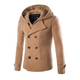 abrigo de trinchera para hombre xs Rebajas JAYCOSIN chaqueta de los hombres Chaquetas de invierno ropa de moda para hombre Trench Coat Sweater Slim Cardigan de manga larga abrigos calientes masculinos Outwear