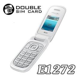 2019 мобильный телефон с размерами карты E1272 с двухкассетным Gsm Mobile реновации машина Старик-машиной низкой цены мобильного телефона Индонезия рынка