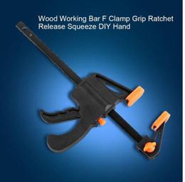 máquina cortadora Rebajas Ventas 2019 !!! Envío gratis Quick Grip F Carpintería Pinza Pinza Tornillo Heavy Duty Wood Carpenter Tool Carpintería de prensa