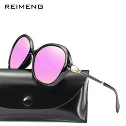4273ae59e0a 2019 Sunglasses Women Luxury Round Vintage Polarized Goggle Fashion Mirror Sun  Glasses Outdoors Female Eyewear Lady Shades UV400