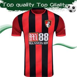 Uniforme c online-Camiseta de fútbol de local de AFC 2020 19 20 Camiseta de fútbol The Cherries 2019 # 13 C. WILSON # 17 J. KING Uniforme de fútbol Tamaño S-2XL