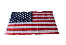 Flag 3x5 ft онлайн-Новый Флаг США 1 шт. 3x5 Ft США Американский Флаг Делюкс Вышитые Звезды Сшитые Полосы Кольца Флаги 35