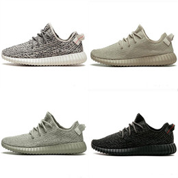lace oxfords Promo Codes - sply v1 kanye west Classical Colour Oxford Tan Moonrock Pirate Black Turtle Dove running shoes Sneakers designer shoes