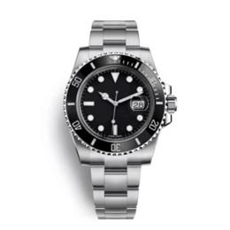 relógios simples para homens Desconto Homens de alta qualidade relógio de luxo 116610 homens assista teel luxo inoxidável relógio mecânico automático moda estilo simples esporte relógio de pulso 40m