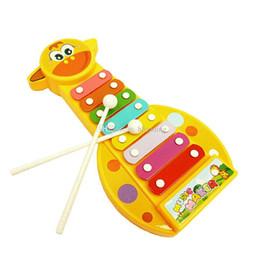 музыкальные инструменты для детей Скидка 2019 новые дети дети 8-нотное пианино музыкальный чайник игрушки музыкальный инструмент для ребенка C6064